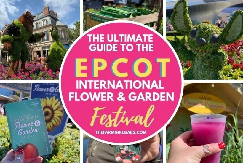 Spring is in the air at Walt Disney World. The Epcot Flower And Garden Festival is in full bloom. Check out this Ultimate Guide To Epcot Flower And Garden Festival before you go. #Epcot #DisneyWorld #EpcotFlowerAndGardenFestival
