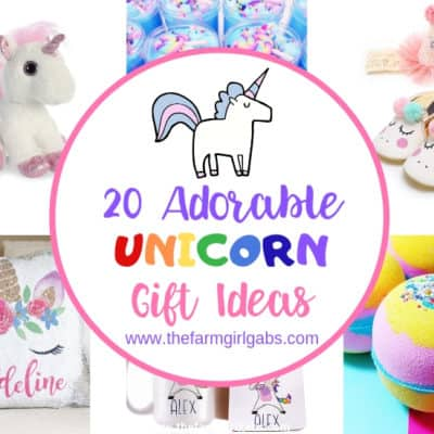 Have a unicorn lover in your life? You can resist these magical creatures. Here are 20 Enchanting Unicorn Gift Ideas to give your unicorn fan. #unicorn #unicorngifts #unicorncraft