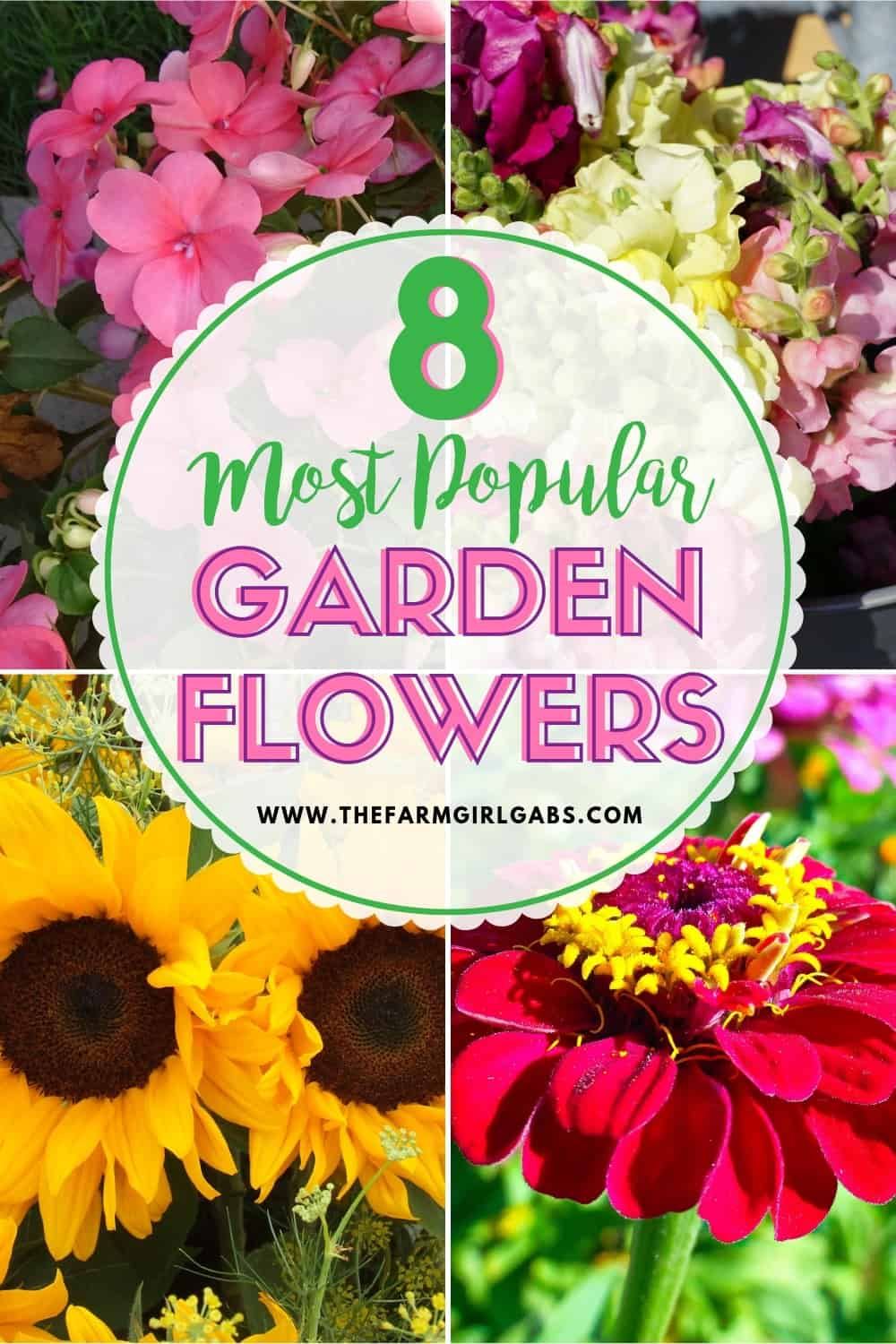 Celebrate spring with these helpful gardening tips. Here is the Ultimate List of Popular Flowers for your Flower Garden.