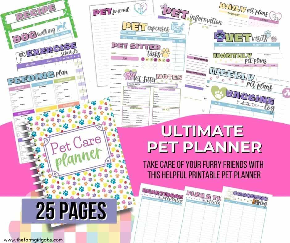 Pet Care Planner