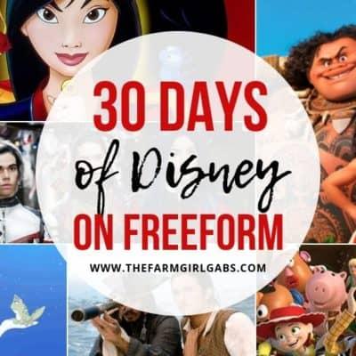 Raise your hand if you love Disney movies. Disney fans will enjoy watching their favorite Disney movie on 30 Days Of Disney On Freeform This September. #disneymovie #disneytip #disneyfan