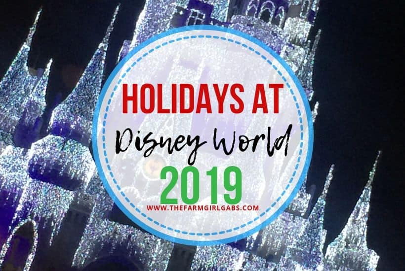 Mickey's Very Merry Christmas Party will once again headline all of the festivities for the Disney World 2019 Christmas season. Here are all the details for the upcoming Disney Holiday Events. These Disney Tips will help you plan a magical Disney Vacation. #DisneyChrismtas #DisneyTips #DisneyPackingList