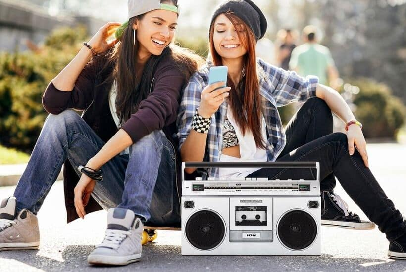 The ION Boombox Deluxe Bluetooth Speaker