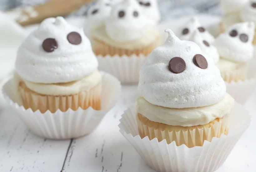 Halloween Ghost Cupcakes