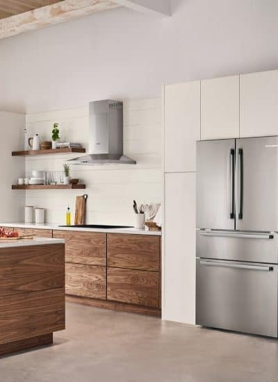 The kitchen is one of the most important spaces in the home. The all-new Bosch Counter-Depth Refrigerators offers stylish design and innovative technology. #ad #FollowTheFridge, #BoschHome