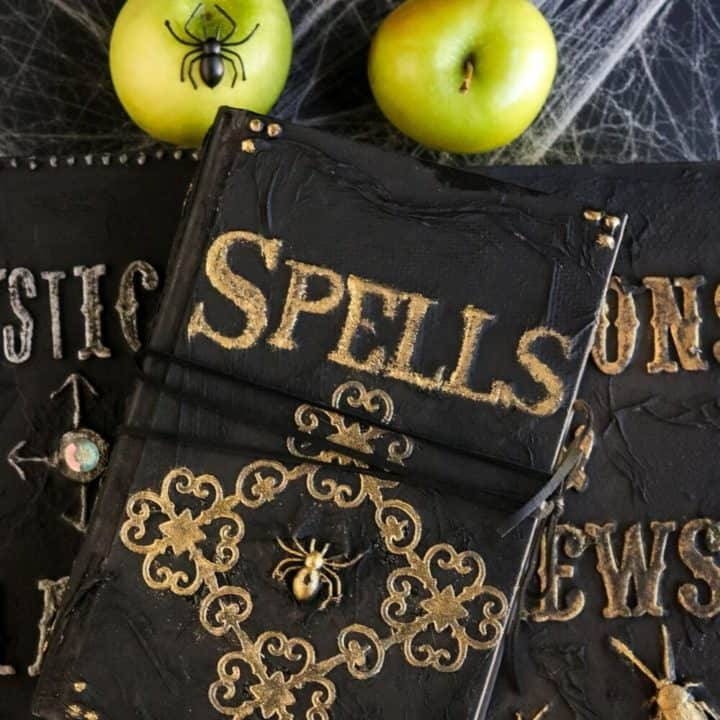 Make Your Own Halloween Spell Book