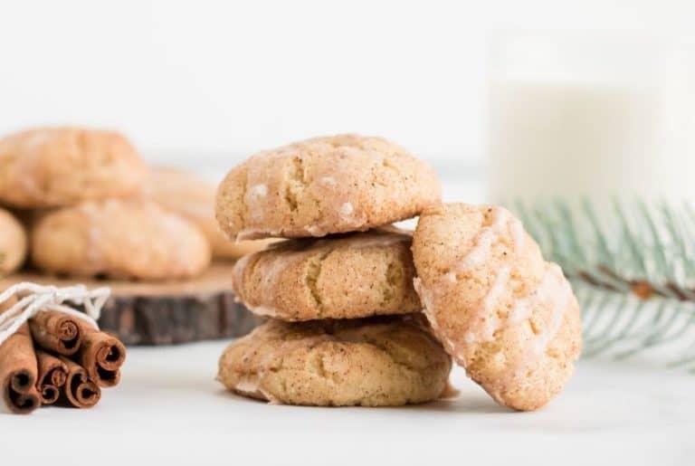 Eggnog Cookies (Eggnog Snickerdoodle Cookies)