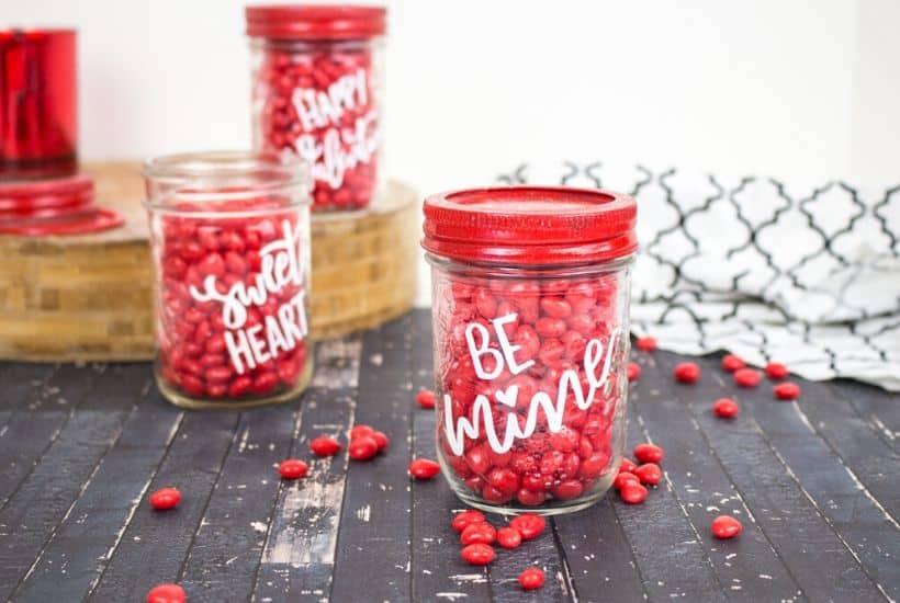 Valentine Candy Mason Jars The Farm Girl Gabs