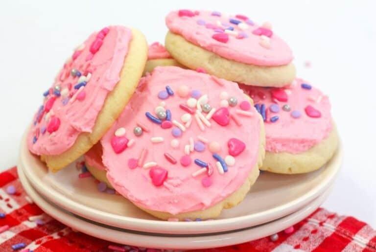 Valentine Lofthouse Sugar Cookies