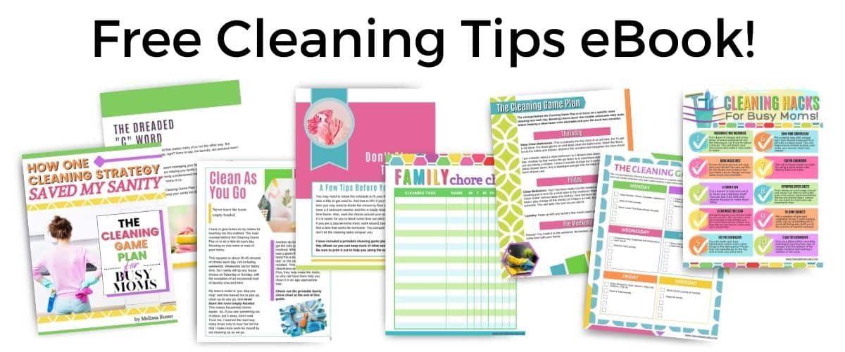 Free Cleaning Game Plan eBook