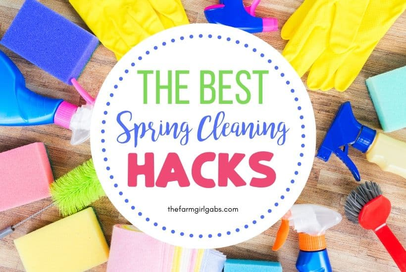 Spring Cleaning Hacks To Save You Hours