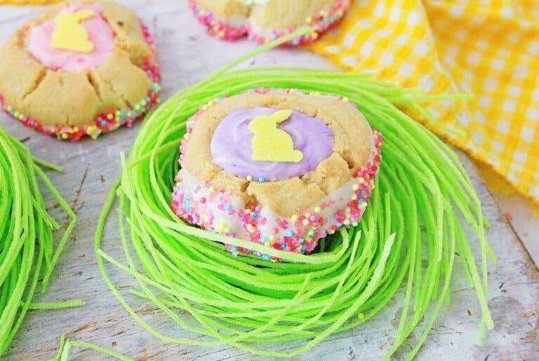 Easter Thumbprint Cookies