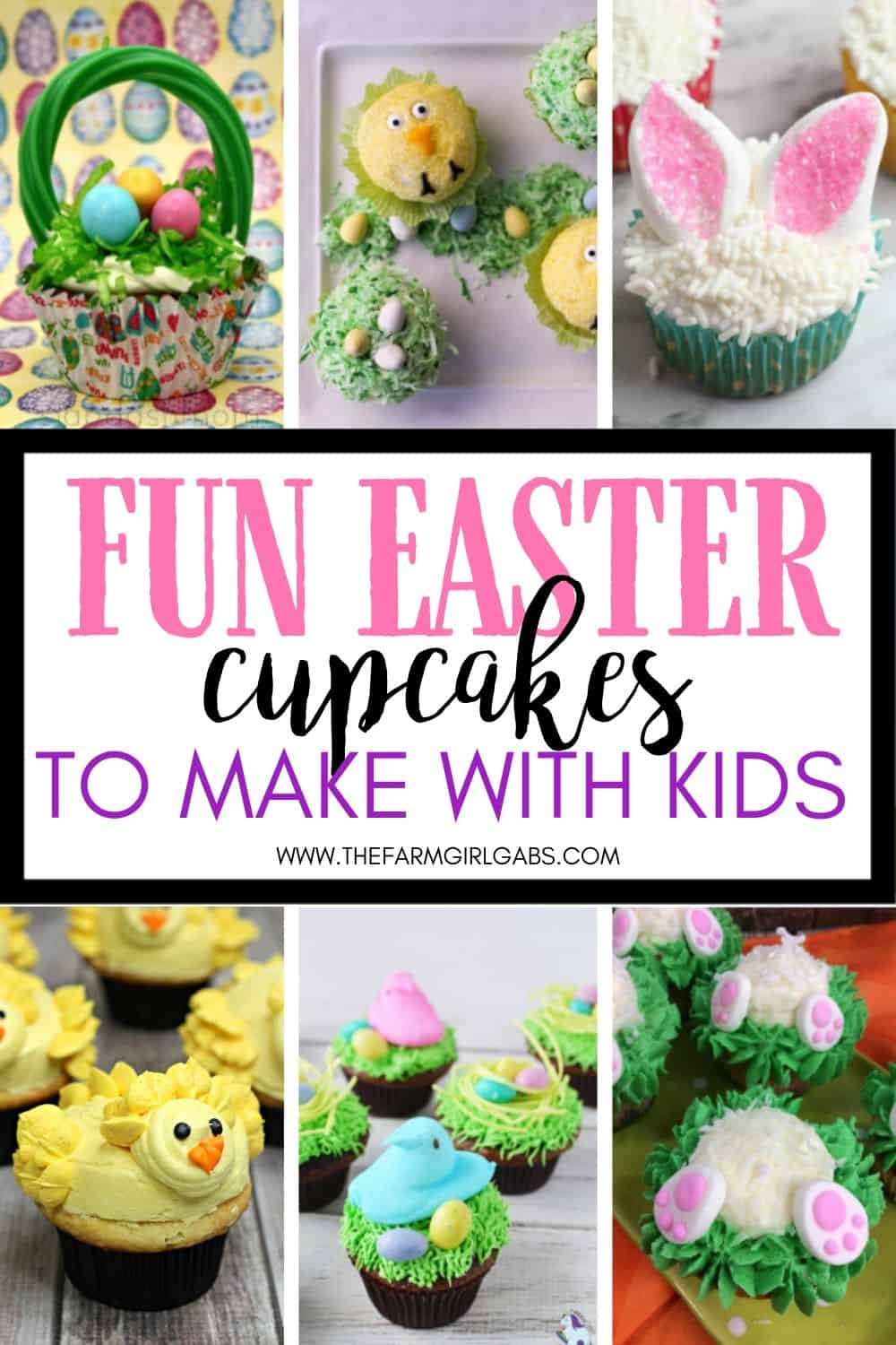 Easter is just around the corner. Why not get the kids in the kitchen this holiday? Try one of these Fun Easter Cupcakes To Make With Kids.