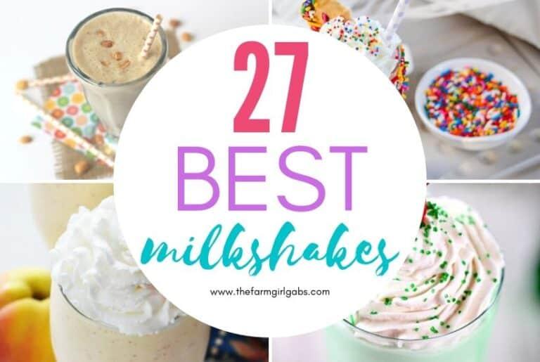 27 Milkshakes To Make At Home