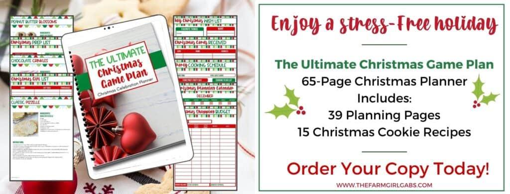 Ultimate Christmas Planner - Christmas Planning Bundle