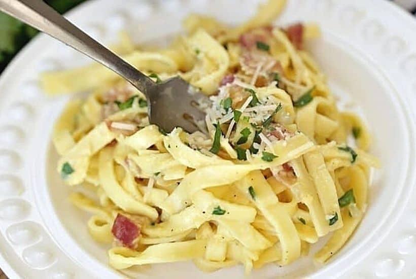 The Best Pasta Carbonara