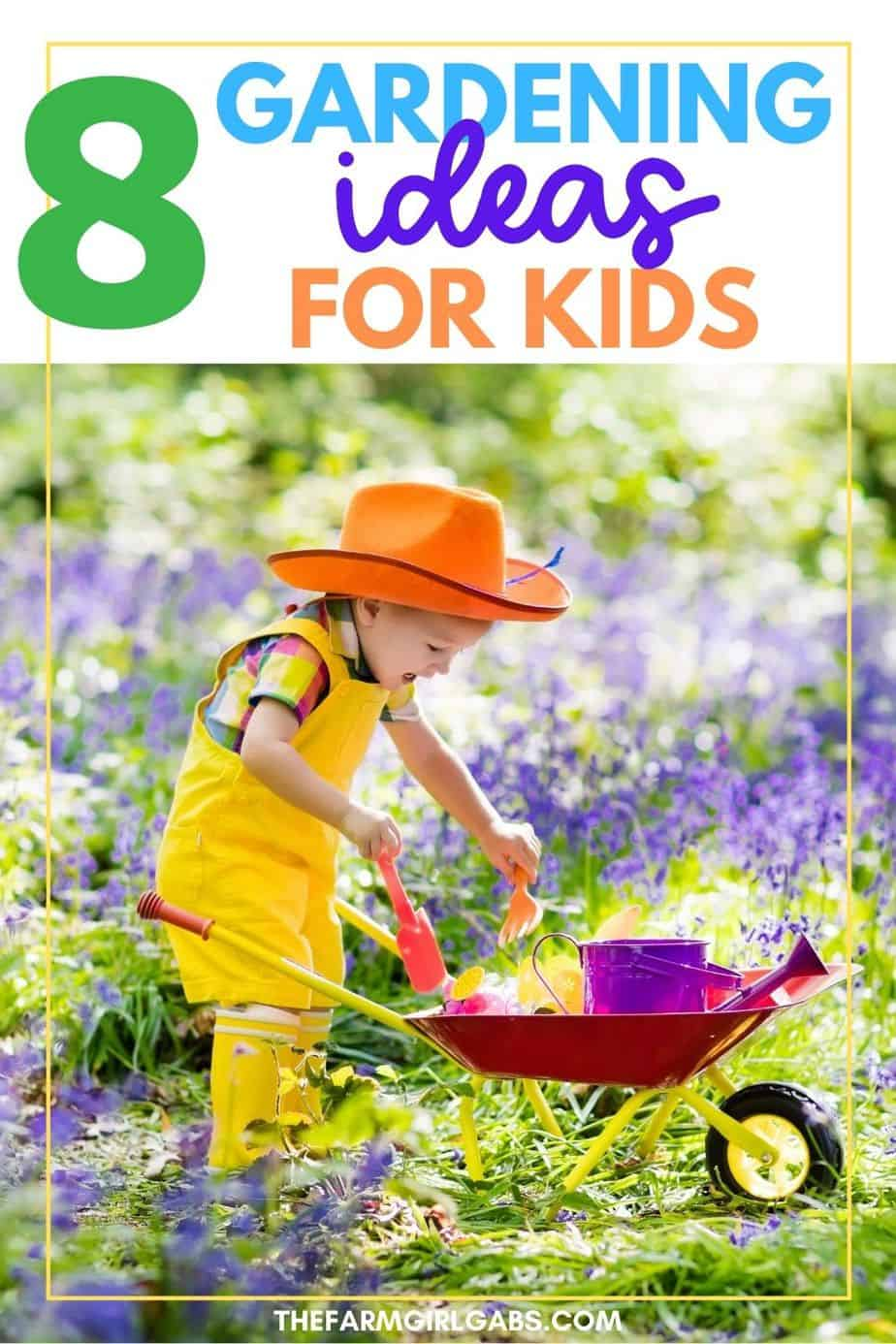 Gardening is a fun family activity. These DIY garden ideas for kids are a fun way to let kids dig in and start growing a garden. The Eight themed garden ideas for kids is a fun activity. Check out these helpful gardening tips to grow a beautiful garden.