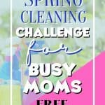 If you are ready to get your home into shape this spring, then you may want to consider our spring cleaning challenge! This challenge was designed with busy moms in mind with just one simple task each day for 31 days! Ready to get started? These easy cleaning tips for busy moms will help you get your house in order. Check out these quick cleaning hacks to help clean your home.
