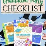 Ready to celebrate your graduate? Graduation season is here and that calls for a party. The Ultimate Graduation Party Checklist will help you plan a successful graduation party for your son or daughter. Download the free printable graduation party checklist. Follow these party planning tips for a fun and organized graduation party. Don't forget to download the free printable party checklist to help you stay organized and on task.