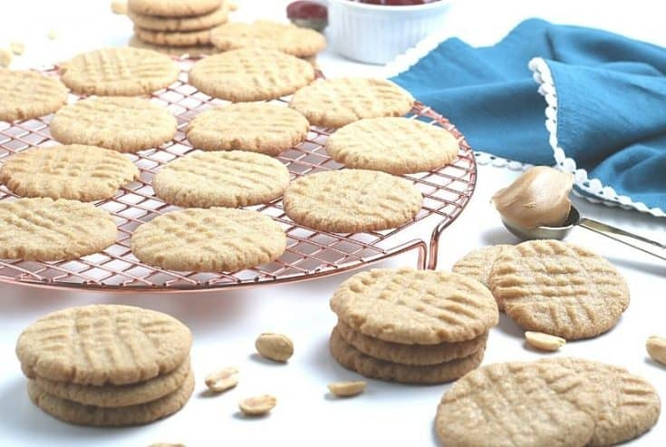 Why buy cookies at the store when you can make fresh ones at home? Follow this Easy Peanut Butter Cookies recipe to make sweet and tasty cookies from scratch. Grab a glass of milk and enjoy this easy soft and chewy peanut butter cookie recipe.