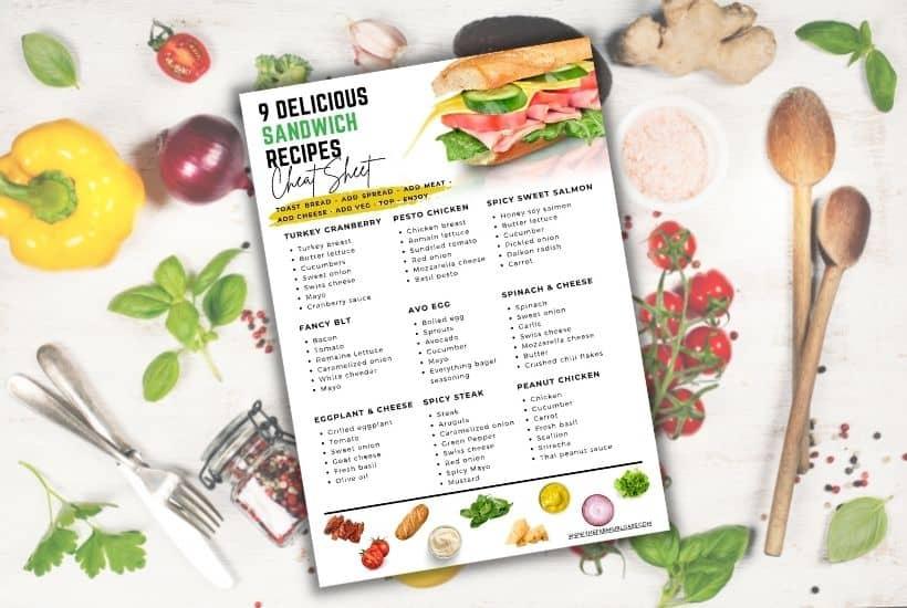delicious sandwich ideas