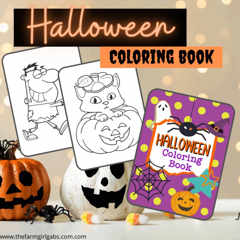 Halloween Coloring Book