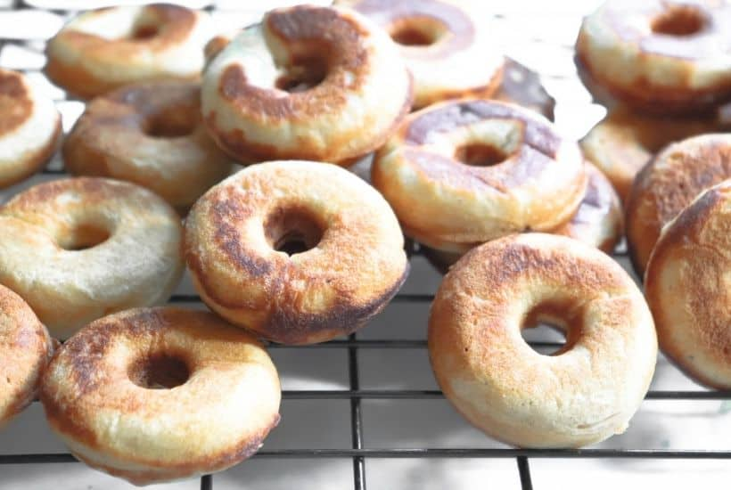 donut is full of sweet apple cider flavor and topped with a cinnamon-sugar mixture. You will love this delicious baked donuts recipe.