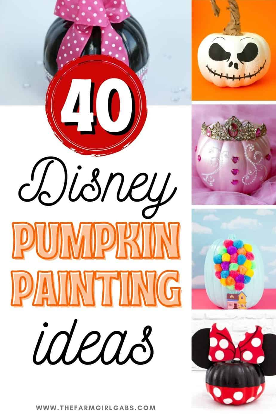 Bippity boppity boo! Halloween is just around the corner. These DIY Disney Pumpkin Painting Ideas are fun projects to add to your Halloween Decorations. These Disney-themed pumpkins are fun for young kids, old kids and kids of all ages. From Disney Princesses to Disney Villians to Star Wars, you will definitely find your favorite Character in this Disney Painted Pumpkins collection. These no-carve pumpkin ideas are fun for the entire family. Which one of these Disney pumpkins will you make ?