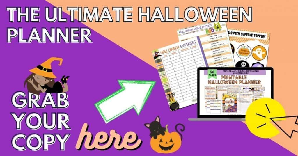 Printable Halloween Planner Opt in image