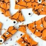 Easy Halloween Bark - Fun Halloween treat idea